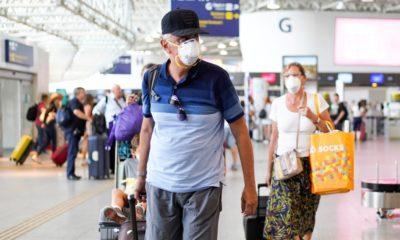 Anvisa muda regras sobre uso de máscaras em aviões e aeroportos