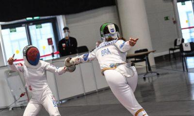 Esgrima: Nathalie Moellhausen é nona colocada no mundial e se garante em Tóquio