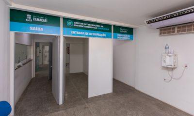 Atendimento no Centro Intermediário de Enfrentamento ao Coronavírus funciona 24 horas