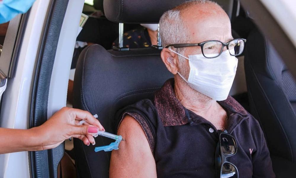 Vacinômetro: mais 624 pessoas tomaram a segunda dose; total passa para 5.382