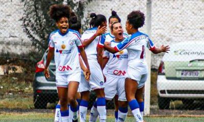 Após fala racista em jogo feminino do Bahia, narrador e comentarista são afastados pela CBF