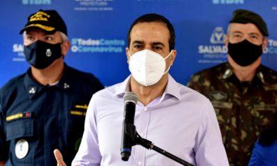 Salvador inicia vacinação de trabalhadores da educação nesta quarta-feira