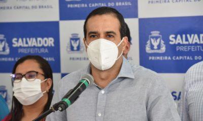 Praias de Salvador serão reabertas a partir de segunda-feira, anuncia Bruno Reis