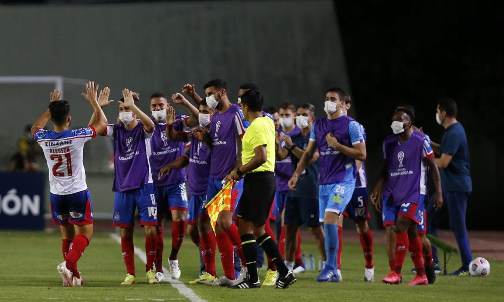 Bahia goleia o Guabirá da Bolívia pela Copa Sul-Americana