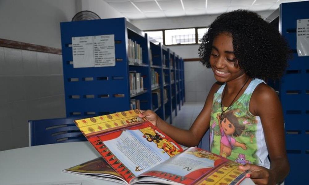 Mata de São João implanta projeto de biblioteca virtual com livros gratuitos