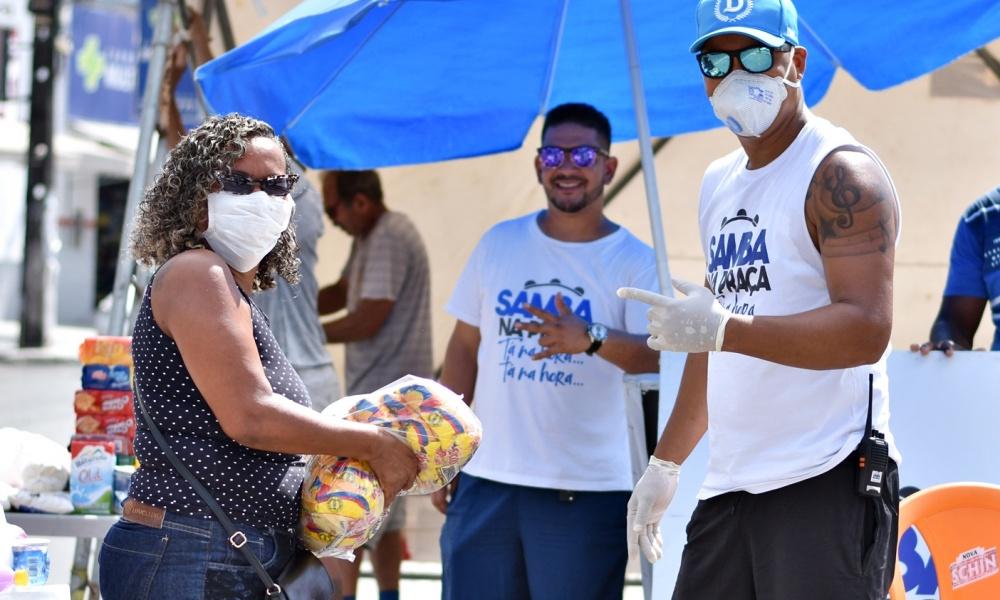 Corrente do bem: Samba na Praça promove nova edição do Pit Stop Solidário no sábado