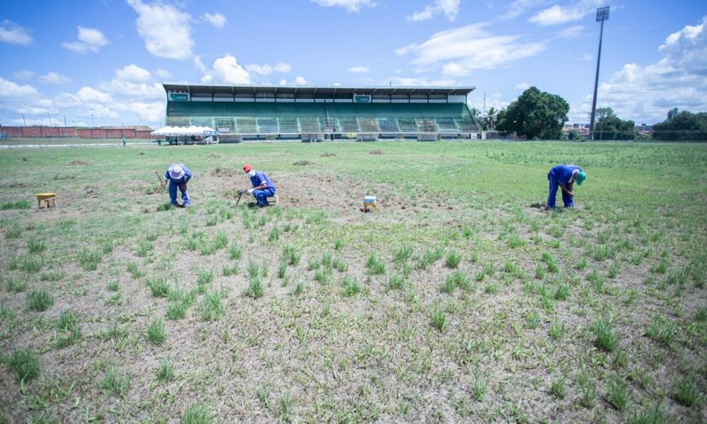 Sejuv prepara Estádio Fernando Lopes para Campeonato Baiano