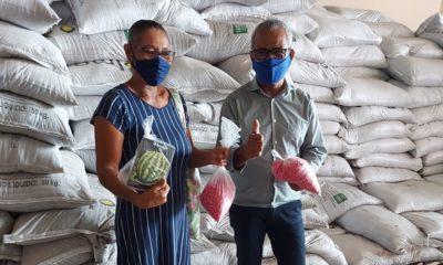 Sedap entrega mais de 28 toneladas de adubos para produtores individuais em Camaçari