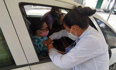 Dias d'Ávila retoma aplicação da primeira dose da vacina contra Covid-19