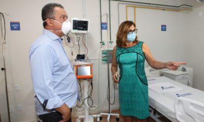 Com 96 leitos para Covid-19, Hospital Riverside inicia operação neste sábado