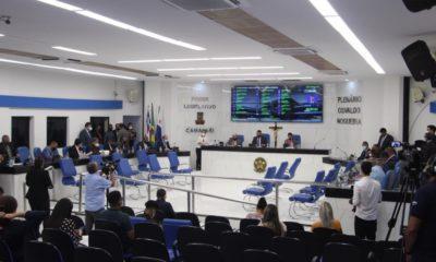 Câmara Municipal suspende sessões presenciais e atendimento ao público externo