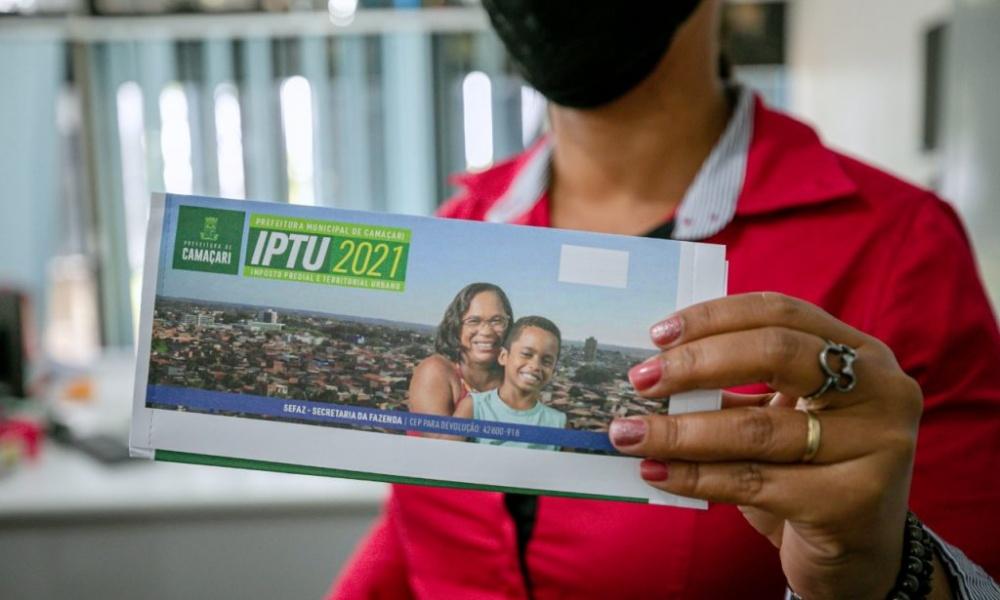 Pagamento em cota única do IPTU pode ser feito até 20 de abril
