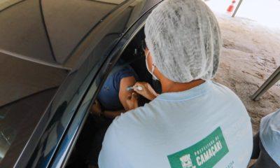Aplicação da segunda dose para vacina contra a Covid-19 é suspensa em Camaçari