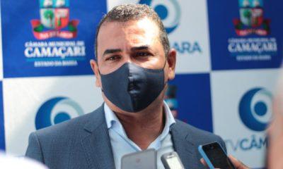 Através de indicação, Júnior Borges solicita regularização fundiária em loteamentos de Arembepe