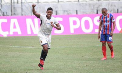 Bahia perde fora de casa e cai uma posição na tabela da Copa do Nordeste