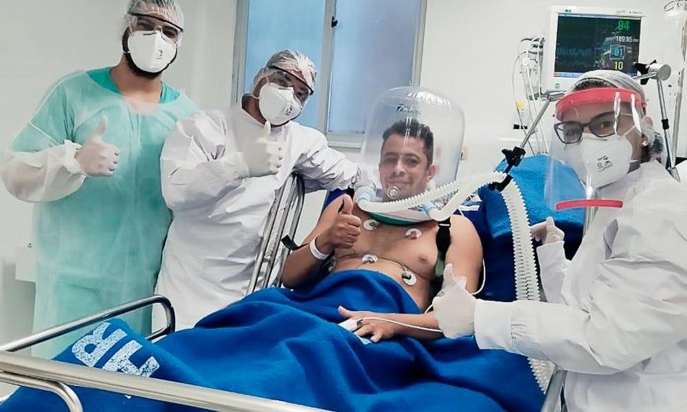 Bahia: 400 capacetes serão utilizados para ventilação mecânica não-invasiva de pacientes com Covid-19