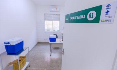 Centro de Vacinação realizou aplicação da primeira dose até as 22h desta terça-feira