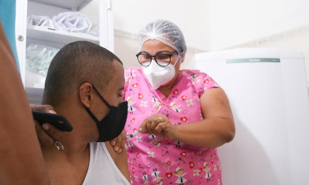Covid-19: Lauro de Freitas suspende aplicação da primeira e segunda dose da vacina