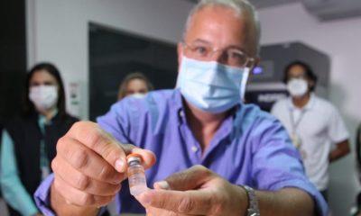 Remessa com 222,5 mil doses de vacina contra Covid-19 deve chegar hoje à Bahia