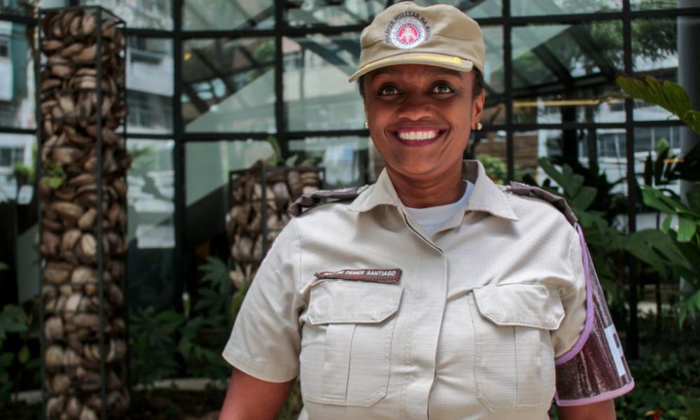 Ex-candidata a prefeita de Salvador, Major Denice é nomeada para cargo na SSP-BA