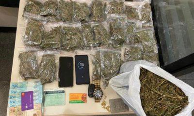 Dono de pizzaria em Lauro de Freitas é preso em flagrante traficando drogas
