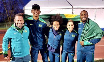 Olimpíada: equipe de atletismo do Brasil é prata no Mundial de Revezamentos