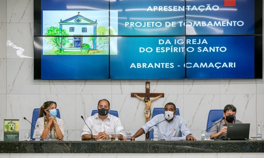 Abrantes: Igreja do Divino Espírito Santo será tombada como patrimônio histórico de Camaçari