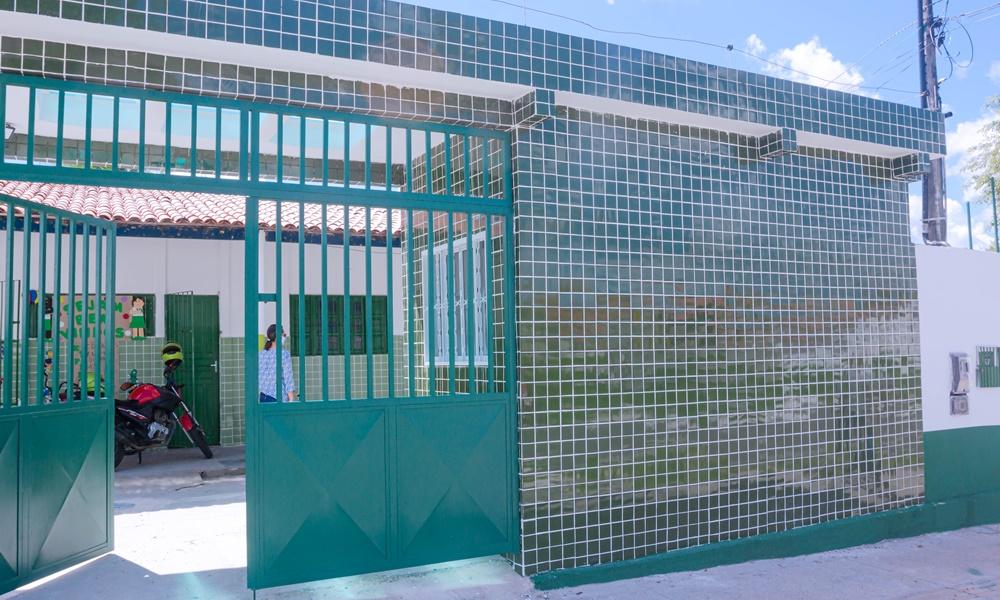 Obras do Centro Integrado de Educação Infantil da Gleba C se encontram em fase final