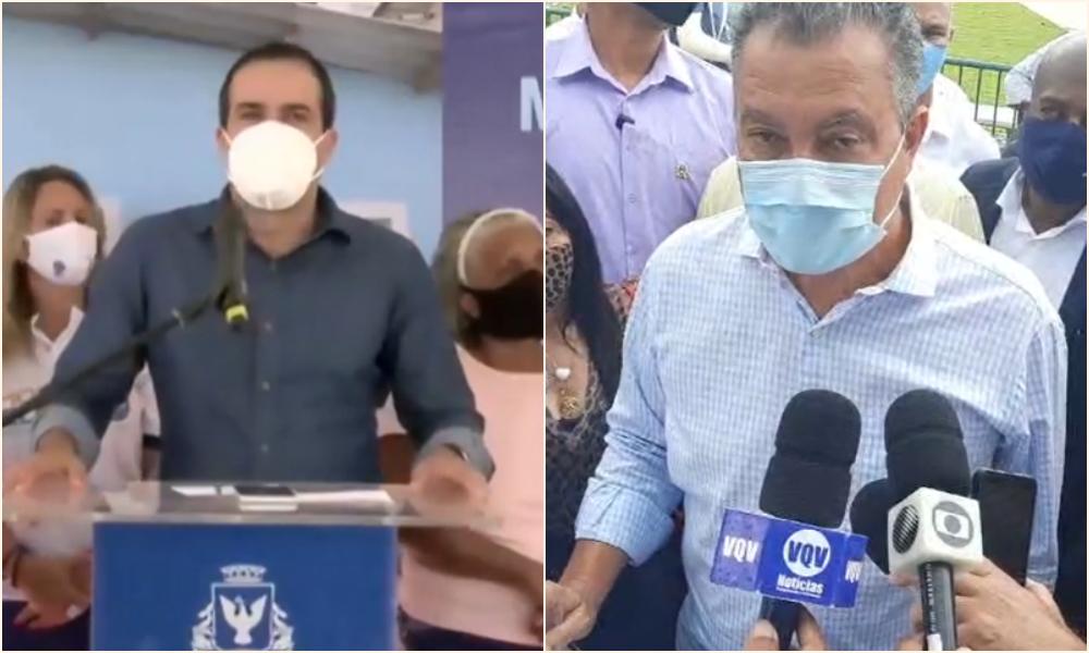 Bruno Reis e Rui Costa acendem sinal de alerta com o aumento do número de casos em Salvador