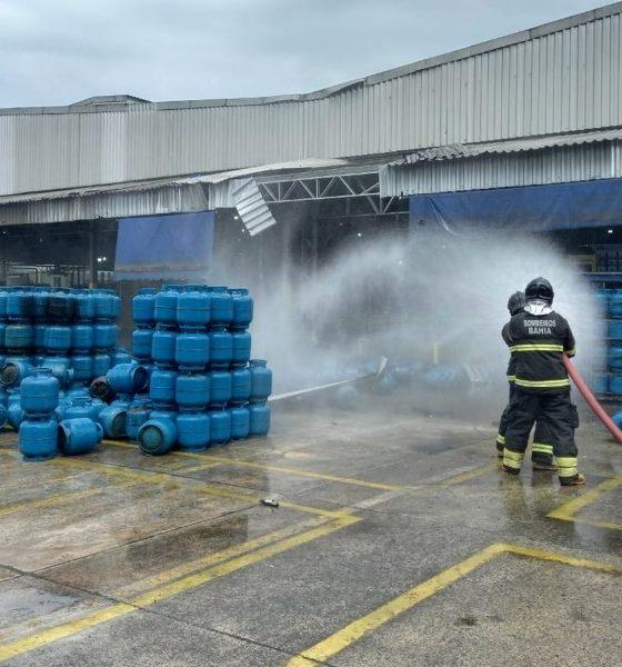 Explosão em empresa de gás mata uma pessoa e deixa outras duas feridas