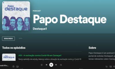Papo Destaque: Destaque1 lança podcast; primeiro episódio já está no ar