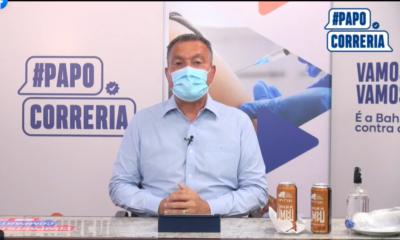 Doses da Sputnik V serão enviadas para a Bahia em julho, anuncia Rui Costa