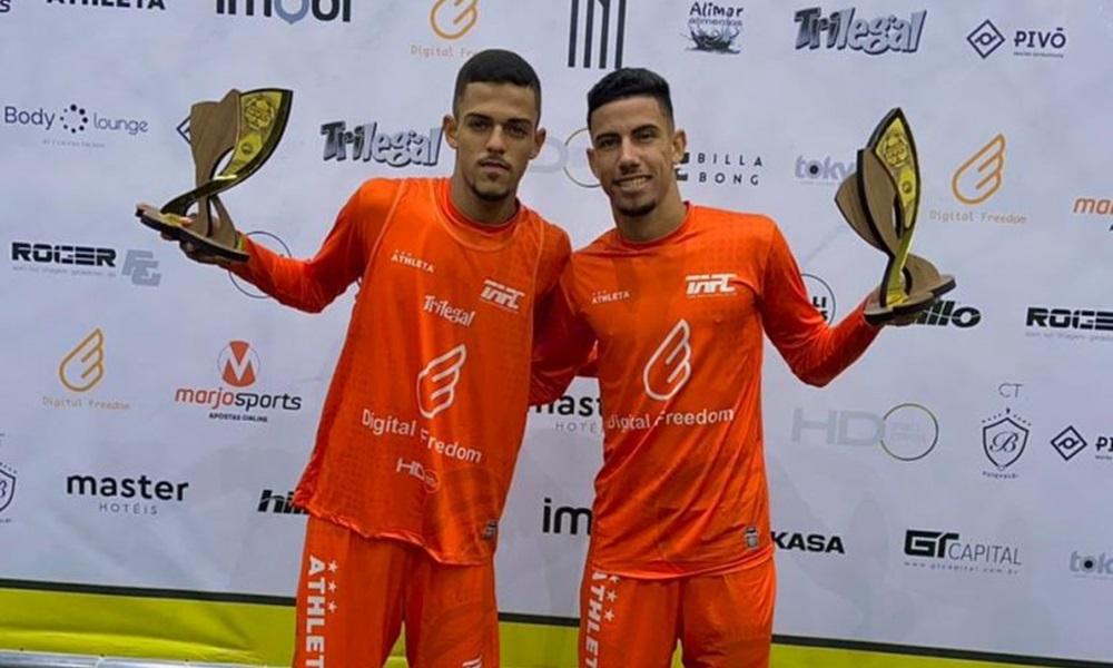 Atletas camaçarienses são vice-campeões no principal torneio de futevôlei do Brasil
