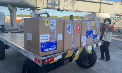 Bahia receberá entre esta segunda e terça-feira mais de 1 milhão de doses de vacina contra Covid-19