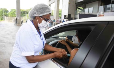 Aplicação da segunda dose contra Covid-19 continua hoje em Salvador