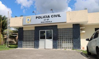 Agressor é preso após vítima registrar boletim de ocorrência em Dias d'Ávila