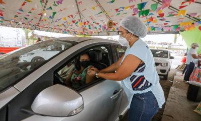 Bahia ultrapassa marca de 5 milhões de pessoas vacinadas contra Covid-19