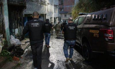 Polícia Civil cumpre mandados contra suspeitos de roubo a bancos em Salvador e RMS