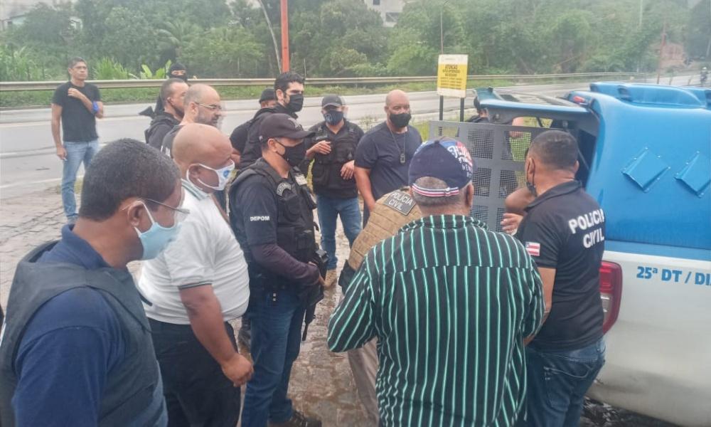 Acusado de cometer seis homicídios e de liderar tráfico de drogas em Mata de São João é preso
