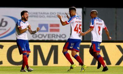 Brasileirão: Bahia vence o Athletico-PR e entra no G-4