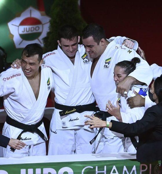 Judô: Brasil bate Rússia e fatura o bronze por equipes no Mundial