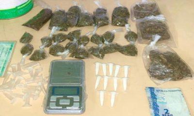 Homem é preso em flagrante por tráfico de drogas no bairro Santa Helena