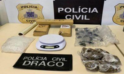 Drogas são apreendidas em imóvel em Lauro de Freitas