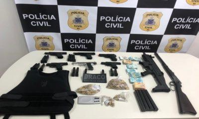 Família suspeita de tráfico de drogas é presa no Parque Verde
