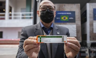 Butantan entrega 1 milhão de doses da CoronaVac ao Ministério da Saúde