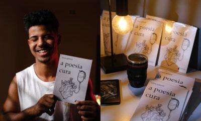 Em estreia no mundo literário, Jonas Gabriel lança livro de poesias sobre cura sentimental