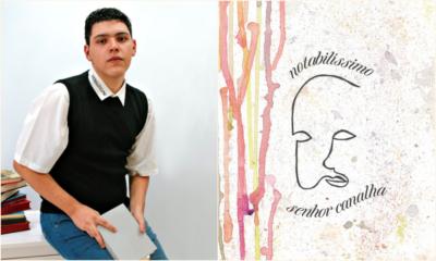 'Notabilíssimo senhor canalha': em seu livro de estreia, Leonardo Crusoé homenageia o teatro baiano