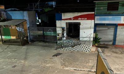 Posto bancário é explodido em Barra do Pojuca