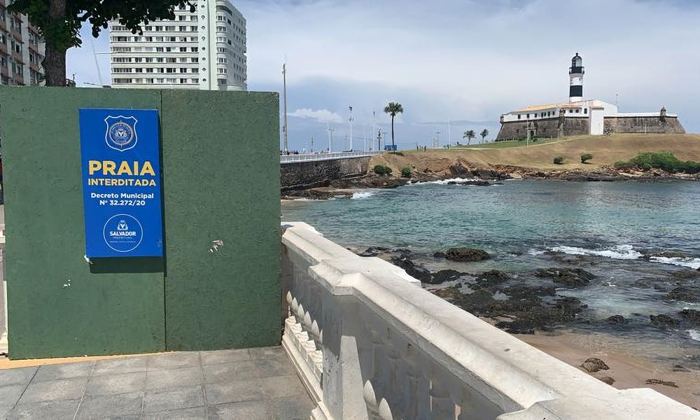 Acesso às praias de Salvador será proibido durante São João