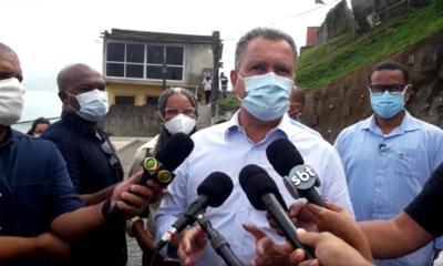 Vacinas da Janssen serão destinadas à RMS e aplicadas em mutirão, adianta Rui Costa